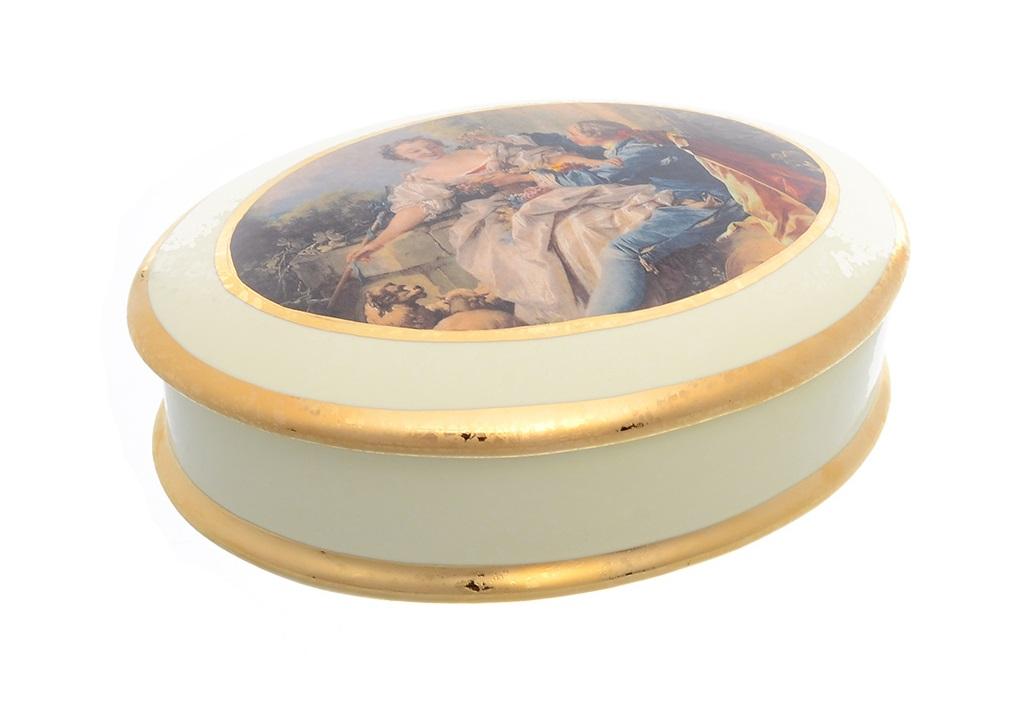 Блюдо овальное ceramiche (bruno costenaro) мультиколор 16x5x12 см..