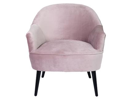Кресло (garda decor) розовый 80x79x74 см.