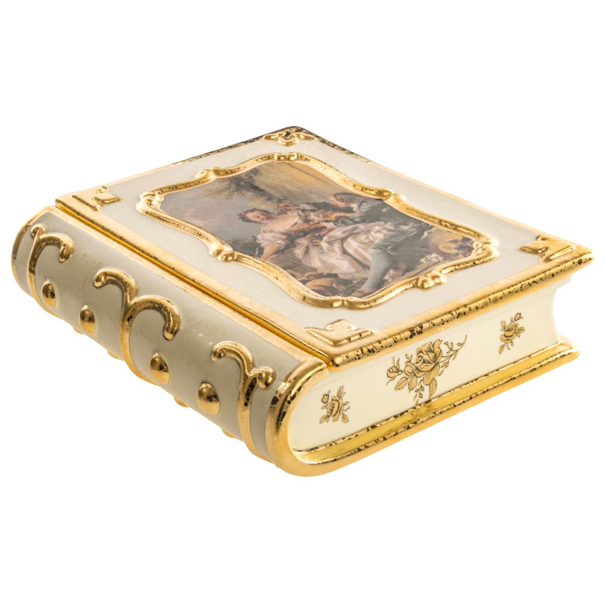 Статуэтка ceramiche (bruno costenaro) золотой.