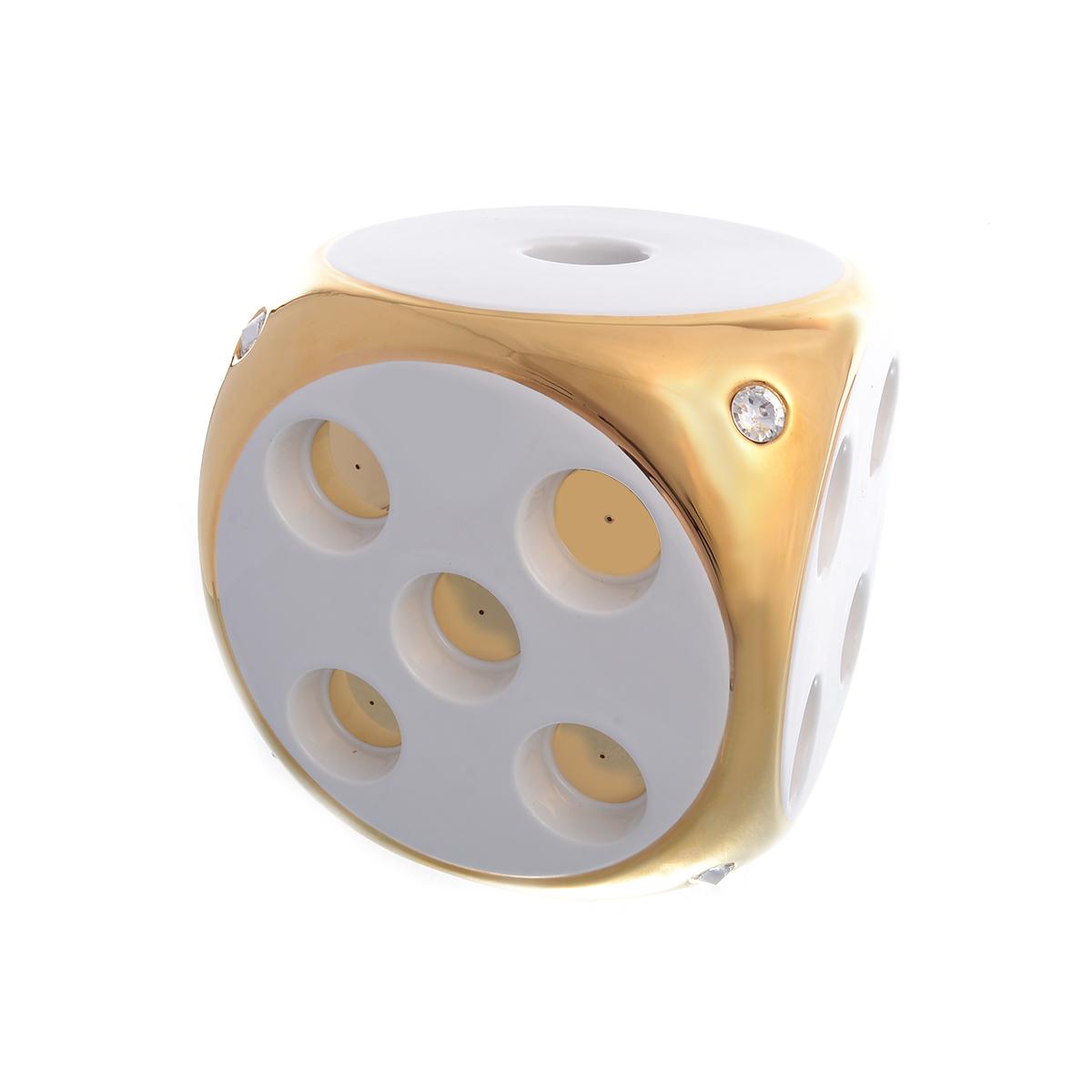 Подсвечник для ароматических свеч (bruno costenaro) золотой 20x20x20 см..