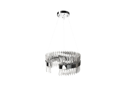 Люстра (garda decor) серебристый 60x27x60 см.