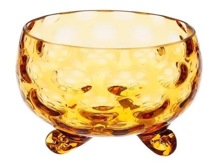 Конфетница egermann (egermann) желтый 11 см.