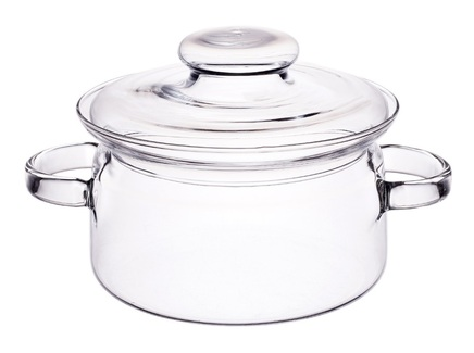 Кастрюля gourmet (simax) прозрачный
