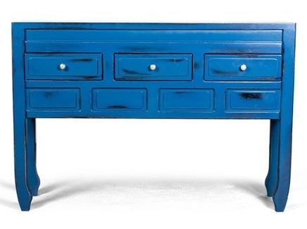 Консоль muotti (desondo) синий 128x88x30 см.