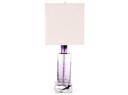 Лампа настольная versa (desondo) фиолетовый 28x68x28 см.