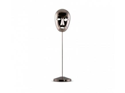 Статуэтка маска (desondo) серебристый 52 см.