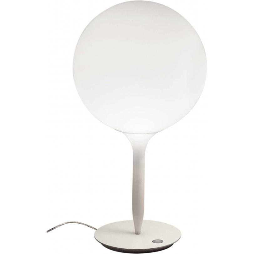 Настольная лампа CastoreДекоративные лампы<br>Сфера рассеивателя держится на светящихся стеблях, мягко перетекая от яркого рассеянного света к угасающему. Термопласт и выдувное стекло.<br><br>Мощность: 1 Е27 x 150 Вт<br><br>Material: Стекло<br>Height см: 66<br>Diameter см: 35