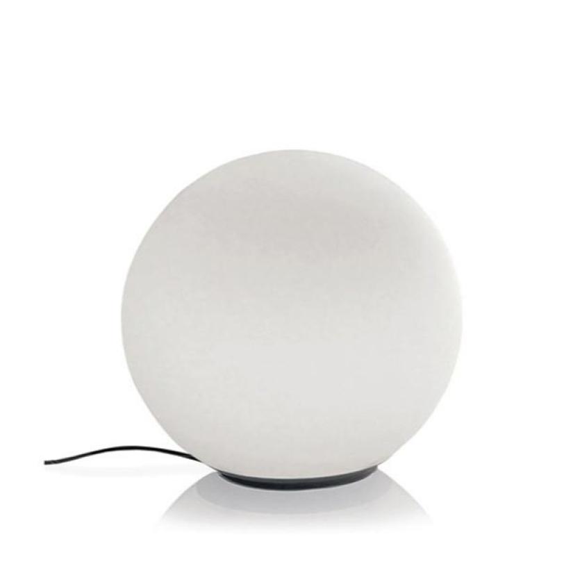 Настольная лампа Dioscuri tavoloДекоративные лампы<br>Материал: крепеж из термоплатстика, рассеиватель из матового стекла.<br><br>Мощность: 1 Е27 x 150 Вт<br><br>Material: Стекло<br>Height см: 23<br>Diameter см: 25