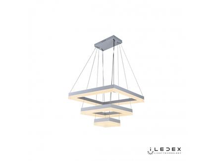 Подвесная люстра iledex twins (iledex) белый 60x131x60 см.