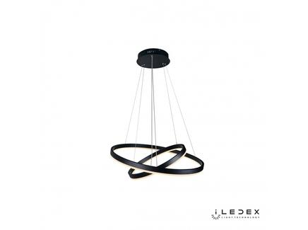 Подвесная люстра iledex orion (iledex) белый 110 см.
