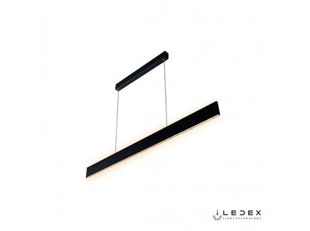 Подвесная люстра iledex sunspot (iledex) черный 119x111x10 см.