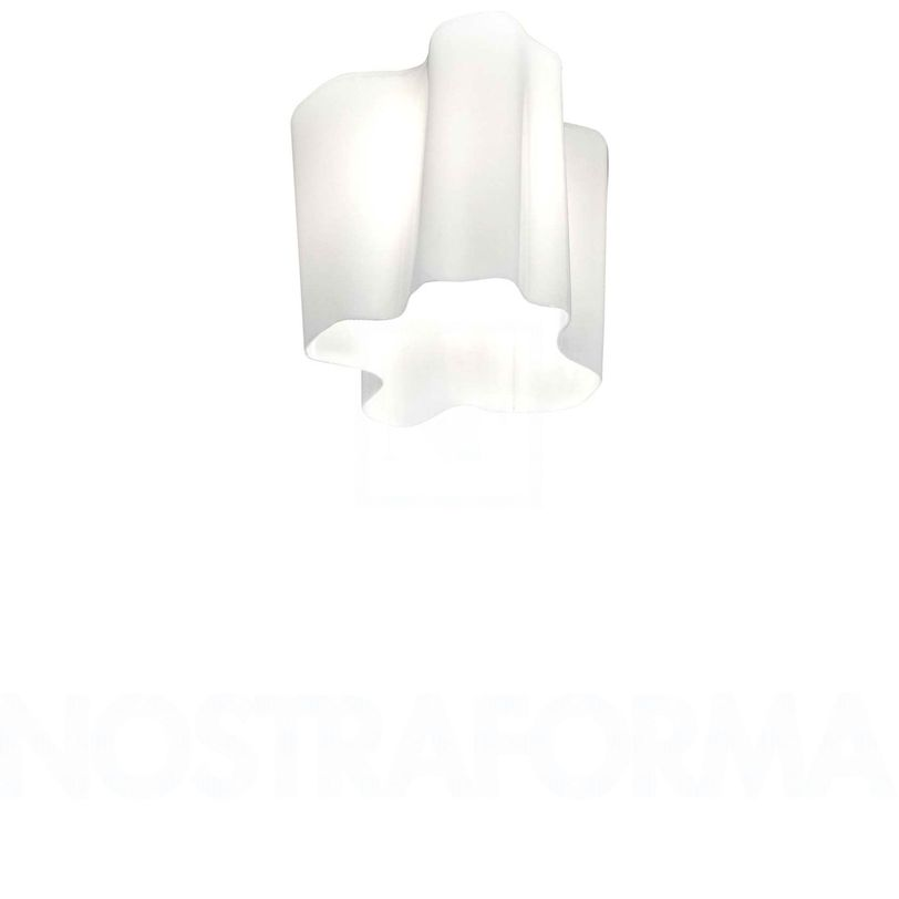 Светильник Logico Mini SoffittoПотолочные светильники<br>Светильник c рассеивателем из трехслойного выдувного стекла. Цвет: белый глянец. Монтажная арматура серебристого цвета.<br><br>Ламп: 1<br>Цоколь: Е27<br>Мощность: 70 Вт<br><br>Material: Стекло<br>Length см: 28.0<br>Width см: 28.0<br>Height см: 23.0