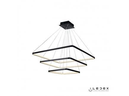 Подвесная люстра iledex venus (iledex) черный 80x111x80 см.