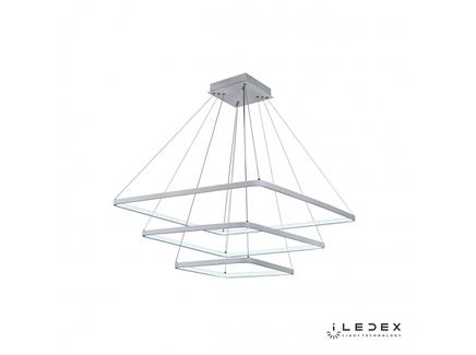Подвесная люстра iledex venus (iledex) белый 80x111x80 см.
