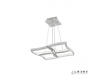 Подвесная люстра iledex roomy (iledex) белый 56x100x56 см.