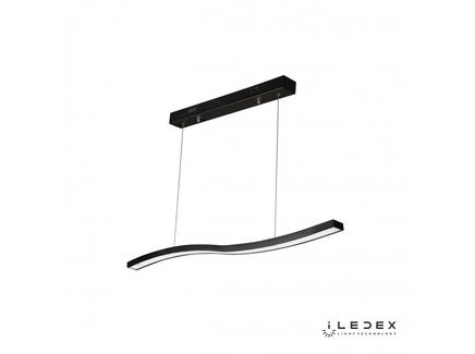 Подвесная люстра iledex umbra (iledex) черный 100x120x6 см.