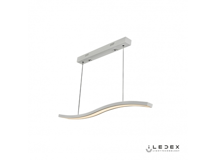 Подвесная люстра iledex umbra (iledex) белый 100x120x6 см.