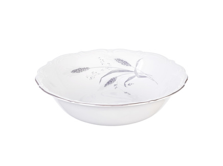 Салатник серебряные колосья (repast) белый