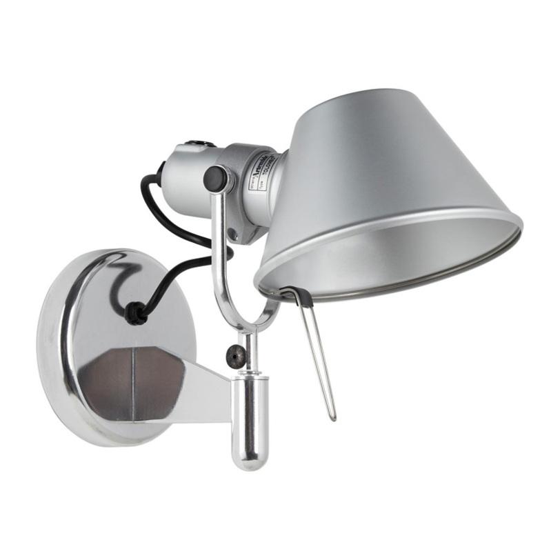 Бра Tolomeo Micro FarettoБра<br>Можно направлять световой поток вращением плафона.&amp;nbsp;Вид цоколя: E14. Мощность: 60W. Количество ламп: 1.<br><br>kit: None<br>gender: None