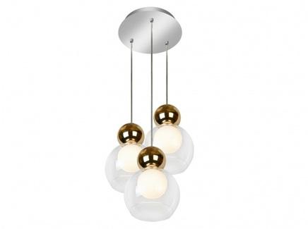 Подвесной светильник blossom (iledex) золотой