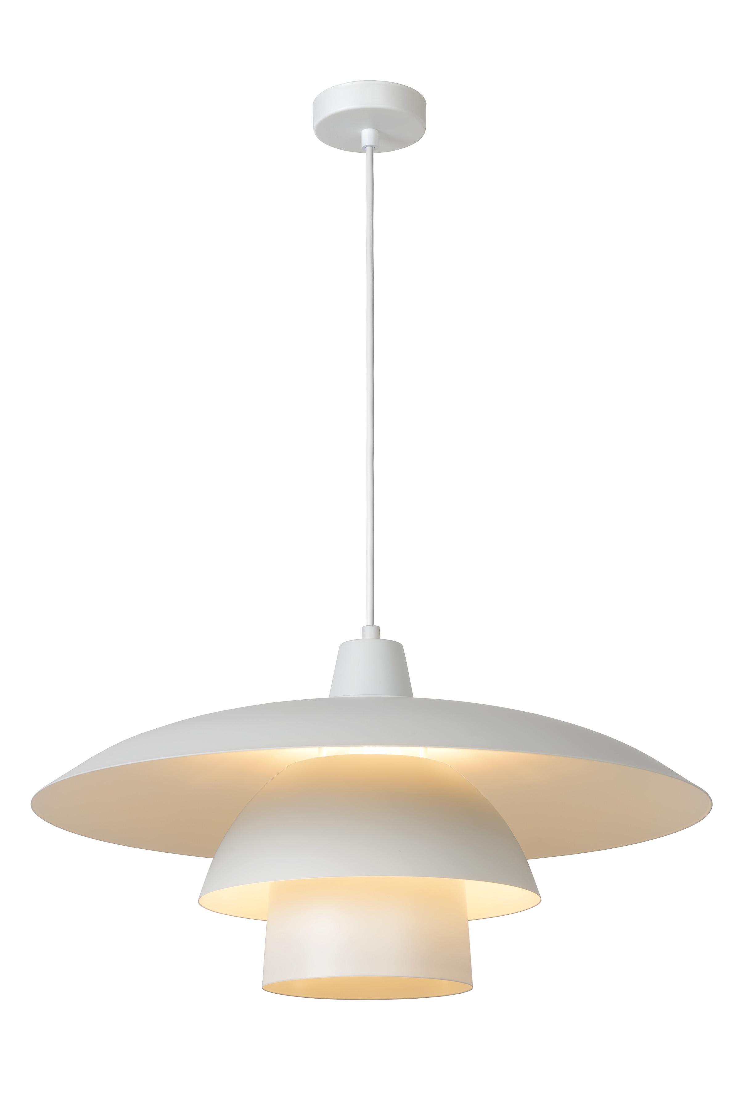 Lucide / Подвесной светильник gitsy (lucide) белый 35 см.