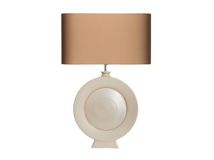 Настольная лампа (valditaro) бежевый 40x58x12 см.