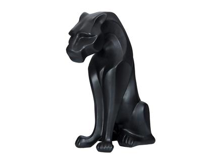 Статуэтка керамическая (valditaro) черный 20x45x35 см.