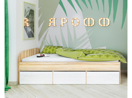 Кровать ярофф (ярофф) бежевый
