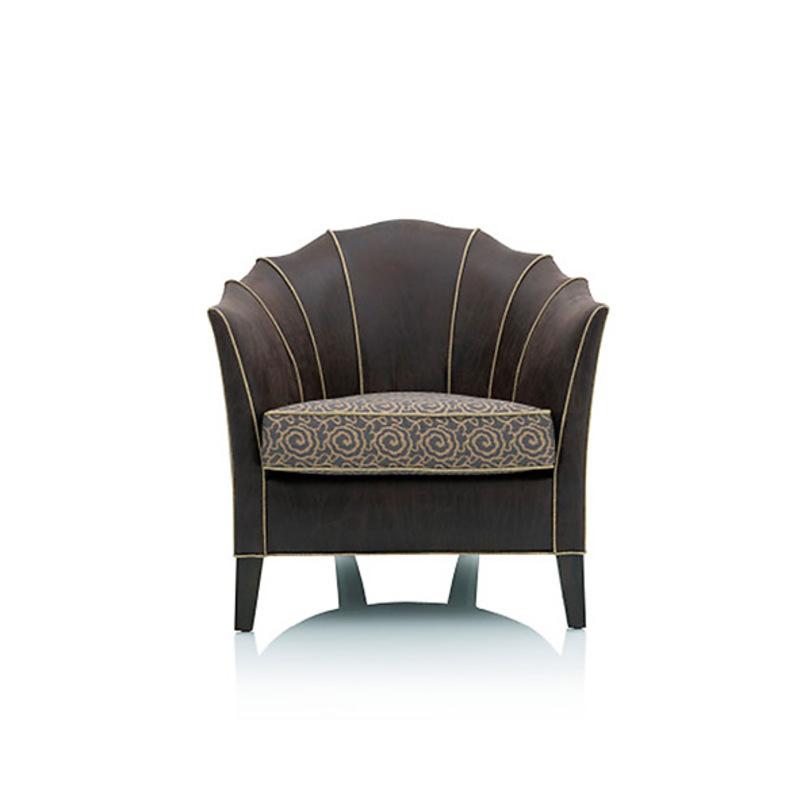 Кресло GothamИнтерьерные кресла<br>Кресло на деревянных ножках. Обтянуто фактурной тканью серого цвета.<br><br>Material: Текстиль<br>Width см: 75<br>Depth см: 72<br>Height см: 77