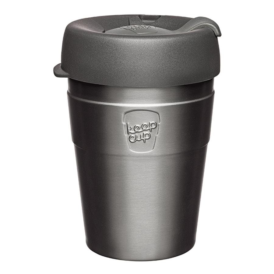 Термокружка кeepcup thermal m 340 мл nitro (keepcup) серый 12 см.