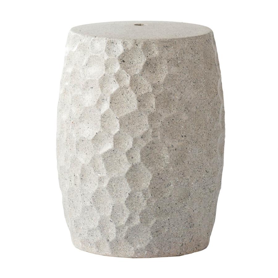 Табурет (glasar) белый 46 см.