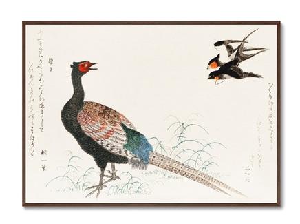 Картина fumiyomu onna 1790г. (картины в квартиру) мультиколор 105x75 см.
