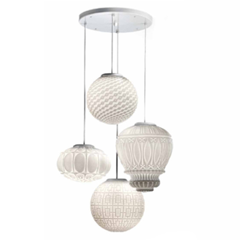 Светильник ArabesqueПодвесные светильники<br>Коллекция Arabesque, муранское стекло, нержавеющая сталь.<br>4 Е27 x 100 Вт<br><br>Material: Стекло<br>Length см: None<br>Width см: None<br>Depth см: None<br>Height см: 180.0<br>Diameter см: 60.0