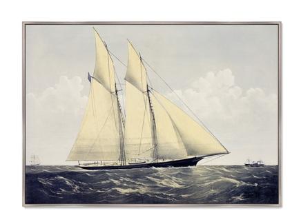 Картина r.t.y.c. schr. cambria 1870г. (картины в квартиру) мультиколор 105x75 см.