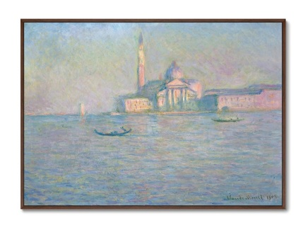 Картина the church of san giorgio maggiore, venice 1908г. (картины в квартиру) мультиколор 105x75 см.