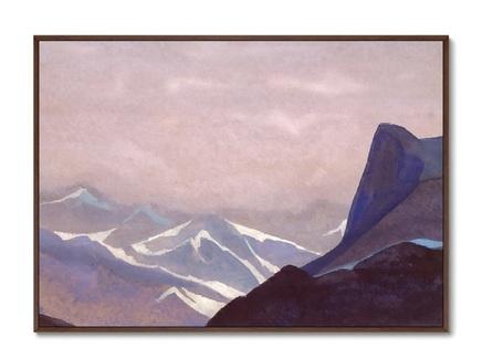 Картина перевал сугет 1936г. (картины в квартиру) мультиколор 105x75 см.
