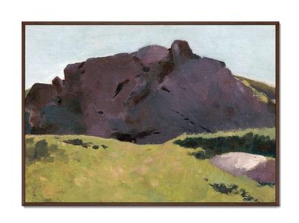 Картина the rocky slope 1875г. (картины в квартиру) мультиколор 105x75 см.