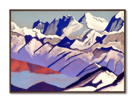 Картина эверест 1936г. (картины в квартиру) мультиколор 105x75 см.