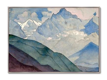 Картина гора колокола 1932г. (картины в квартиру) мультиколор 105x75 см.