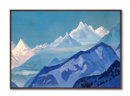 Картина гуру гури дхар 1931г. (картины в квартиру) мультиколор 105x75 см.