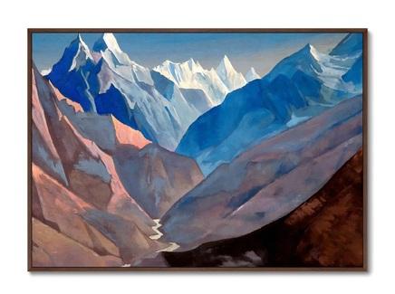 Картина гора «м» 1931г. (картины в квартиру) мультиколор 105x75 см.