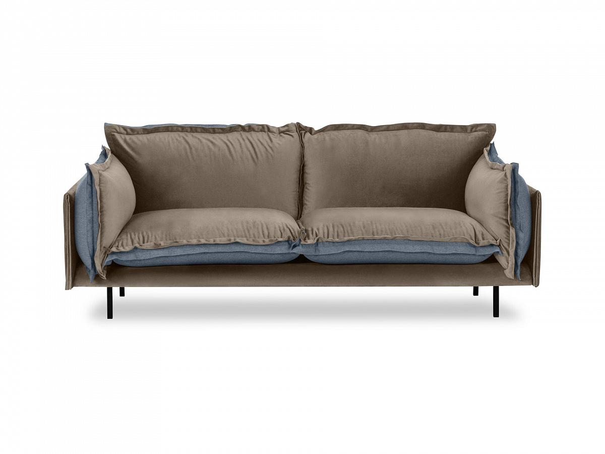 Ogogo диван двухместный barcelona коричневый 126118/6