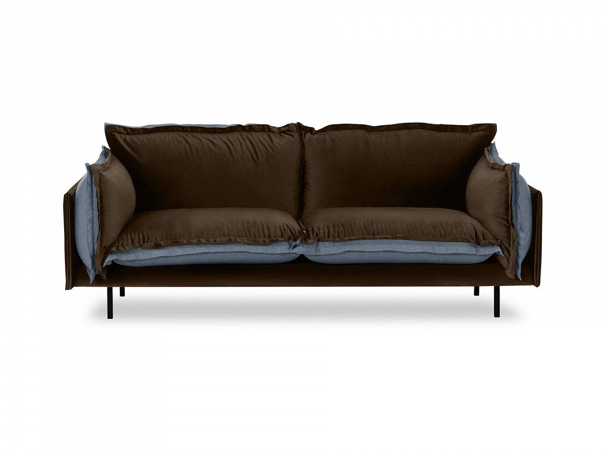 Ogogo диван двухместный barcelona коричневый 126119/3