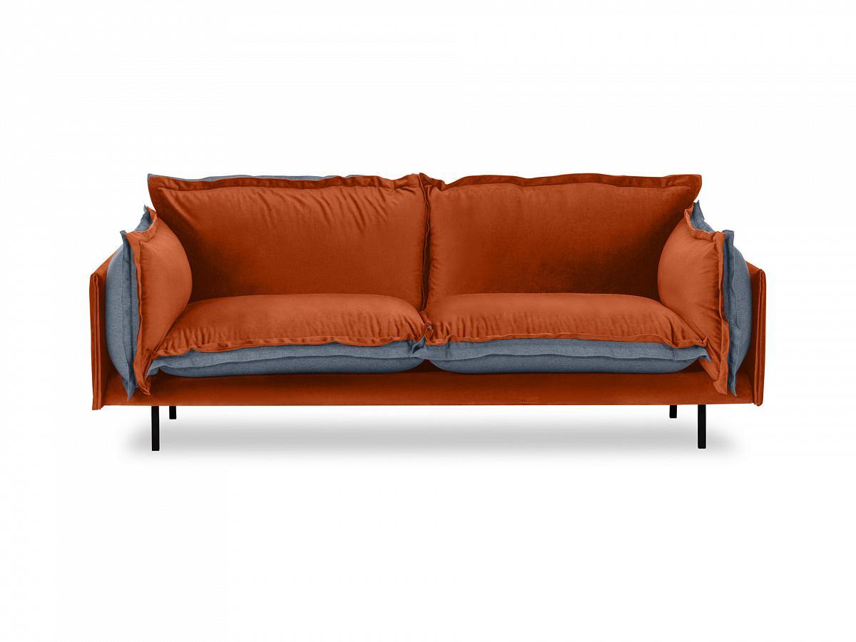 Ogogo диван двухместный barcelona оранжевый 126121/4