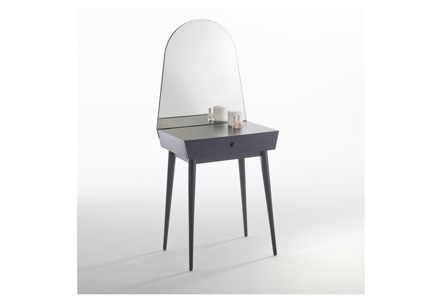 Туалетный столик clairoy (laredoute) серый 59x138x43 см.
