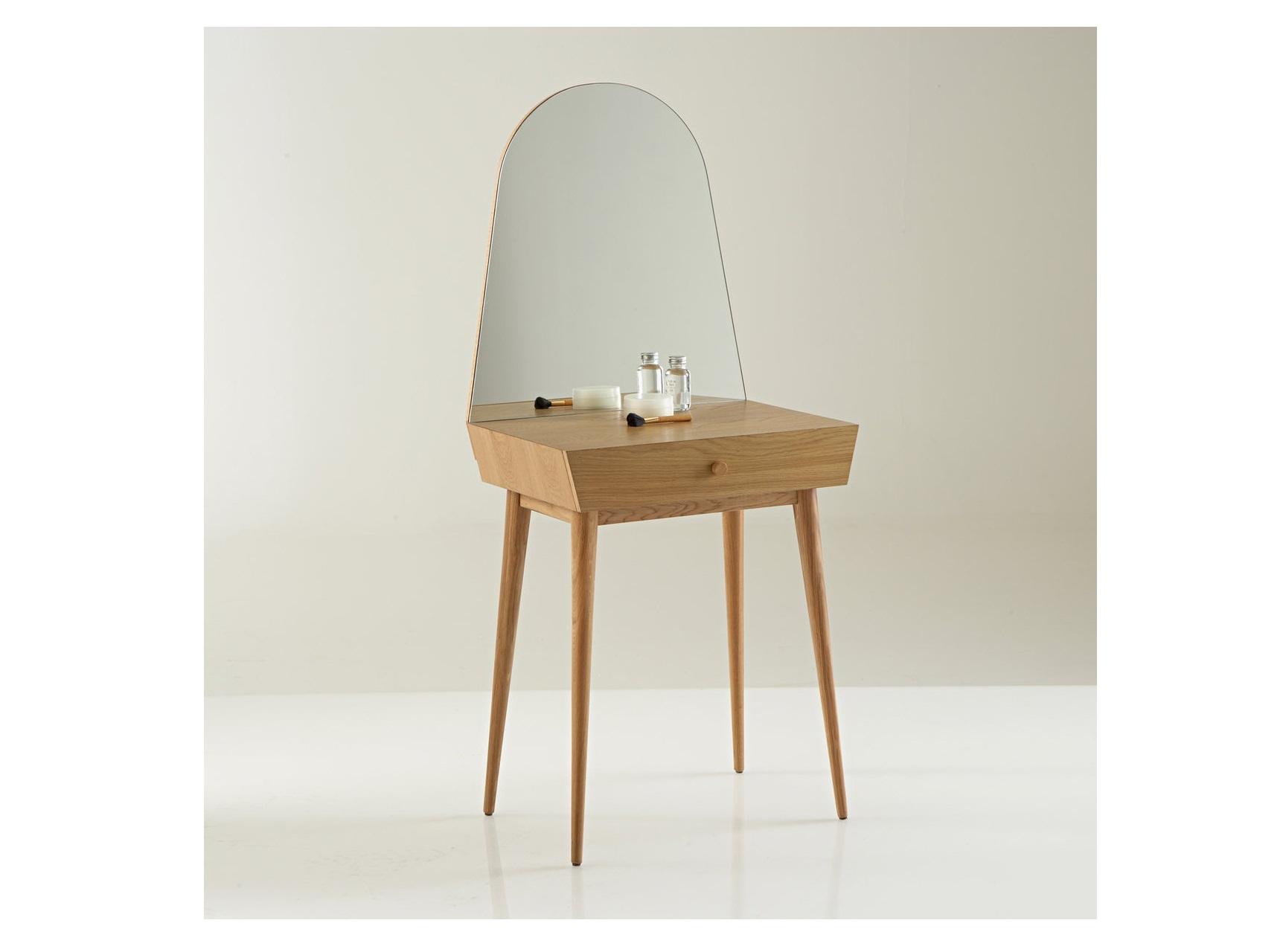 Туалетный столик clairoy (laredoute) коричневый 59x138x43 см.