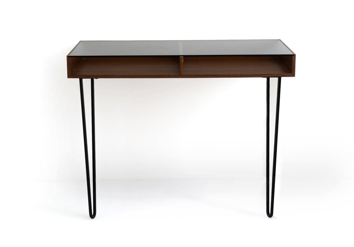 Письменный стол watford (laredoute) коричневый 100x76x50 см.