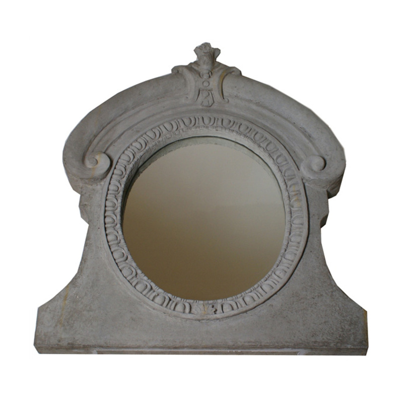 Зеркало АndalusiaНастенные зеркала<br>Зеркало выполнено из искусственного камня серго цвета с эффектом старения.<br><br>Material: Камень<br>Width см: 90<br>Depth см: 10<br>Height см: 115