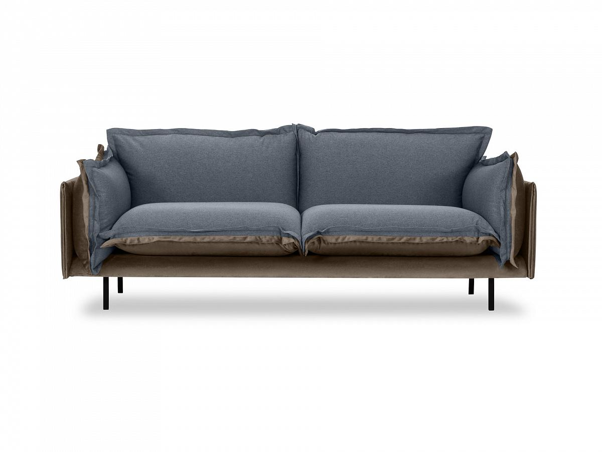 Ogogo диван двухместный barcelona серый 126190/6