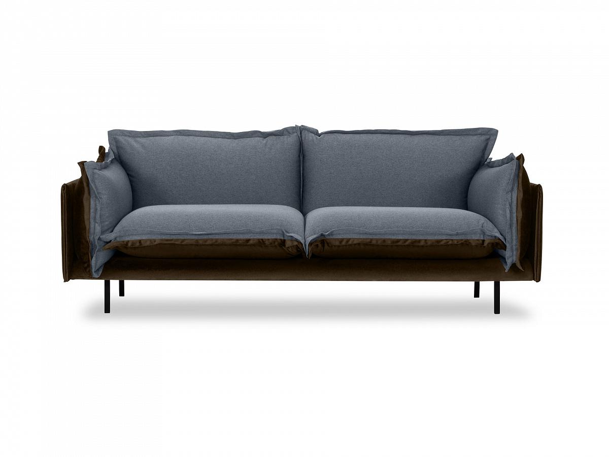 Ogogo диван двухместный barcelona серый 126192/3